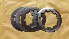 3MM clutch top plate and 3 x 1.5 mm steel clutch plates (surflex)